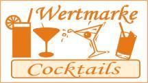 1000 Wertmarken Cocktails, orange